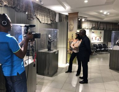 zeinab-director-theophilus-umogbai-benin-national-museum